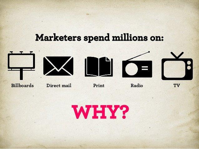 Маркетологи тратят миллионы на