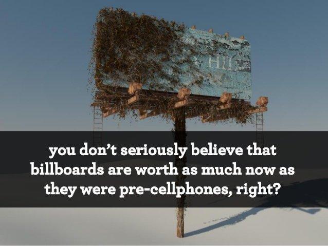 Сколько стоят билборды?