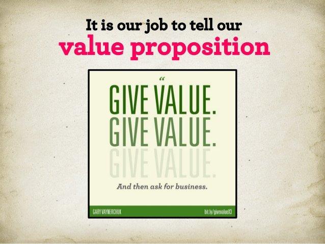 Работа маркетолога — донести до покупателя ценность предложения