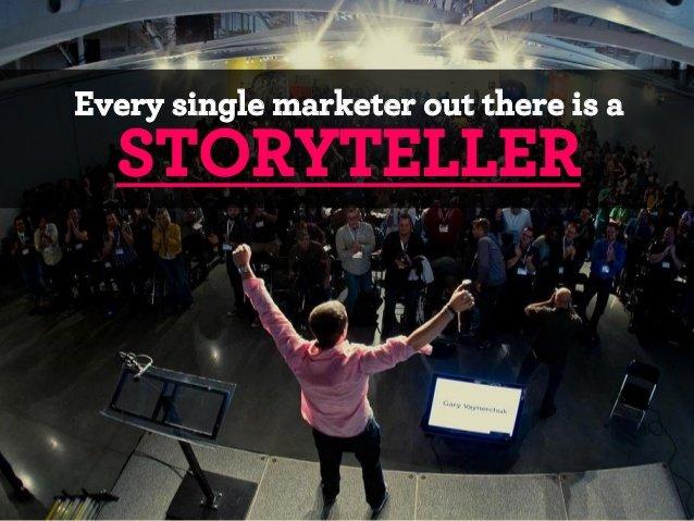 маркетолог — это рассказчик
