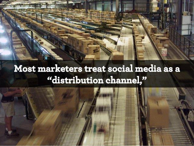 маркетологи относятся к медиа как к каналу сбыта