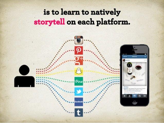 Нужно научиться взаимодействовать на разных платформах