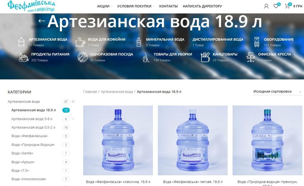 voda feofanivska