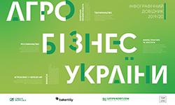 """Інфографічний довідник """"Агробізнес України 2019/2020"""""""