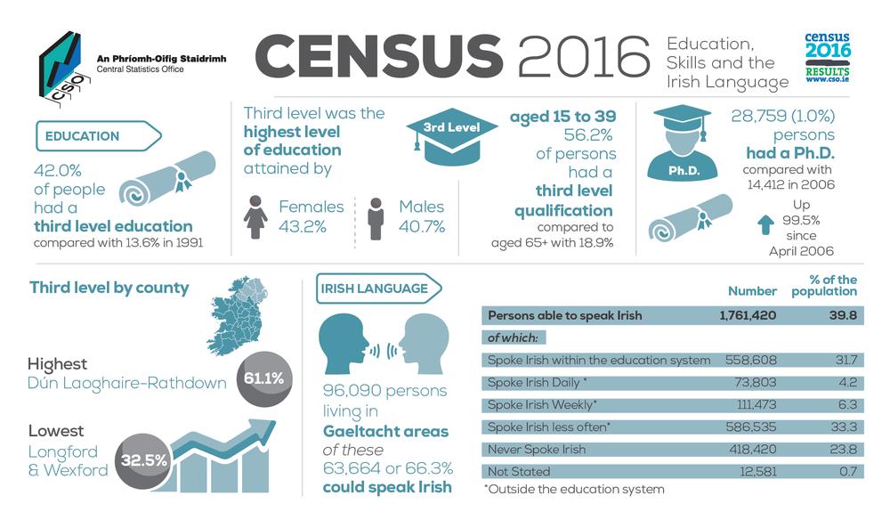 перепис населення Ірландії