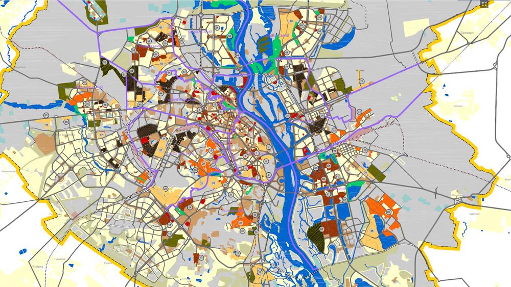Генеральний план Києва 3