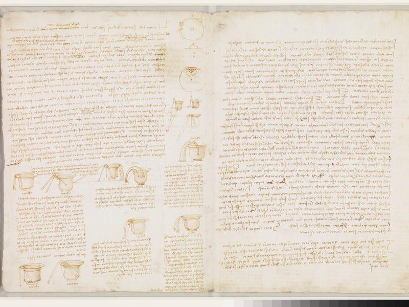 рукопись да Винчи в библиотеке Билла Гейтса