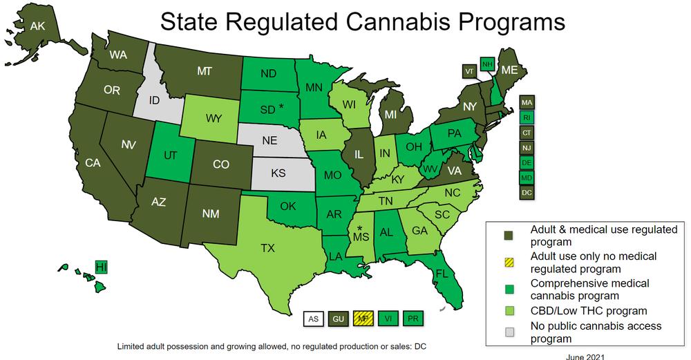 легализация каннабиса в США