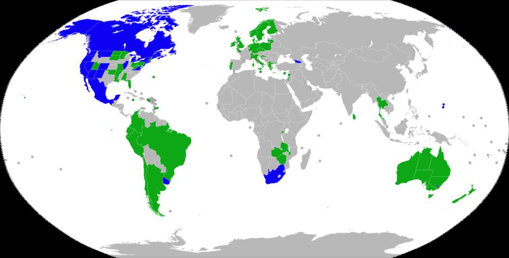 легализация каннабиса в мире