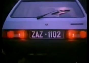 Реклама дня: ZAZ-1102 1989 года