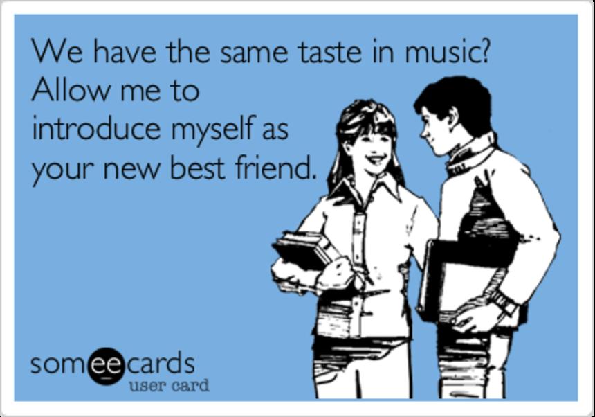 Почему друзья слушают одинаковую музыку?