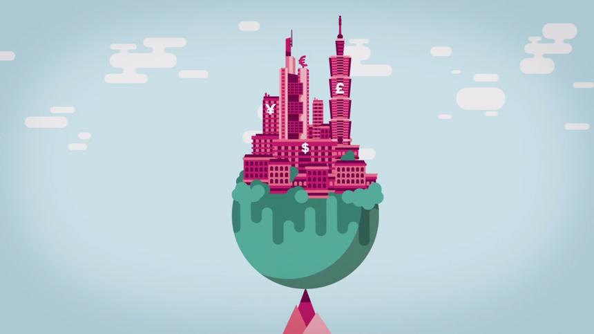 Это яркое видео понятно расскажет про банки, вклады и займы