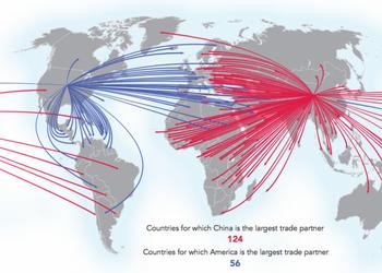 4 карты, которые рассказывают, как Китай доминирует в мировой торговле