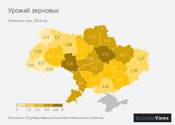 9 графиков и карт о том, кто на самом деле кормит Украину