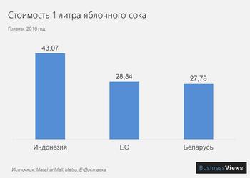 Объясняем популярно одну из важнейших проблем украинской экономики — на примере яблок