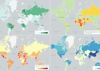 14 карт, которые объясняют наш мир
