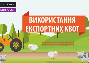 Інфографіка: Як Україна використовувала квоти на експорт в ЄС у 2016 році