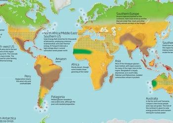 Как будет выглядеть мир на четыре градуса теплее