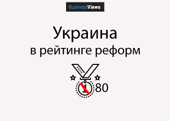 График дня: Украина в рейтинге реформ