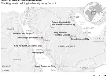 Саудовская Аравия строит города в пустыне как альтернативу добыче нефти