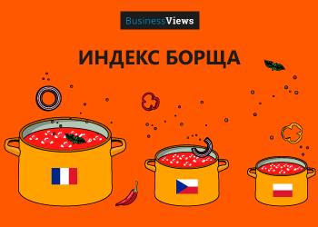 Сколько стоит приготовить любимое украинское блюдо — борщ в разных странах: инфографика