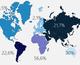 Карта, которая показывает, мигранты из каких стран будут доминировать в Украине через 20 лет