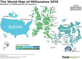 Де краще за все живеться мільйонерам (і чому не в Україні)