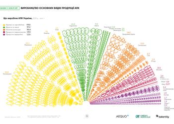 Всі результати сільського господарства України в одній смачній інфографіці