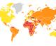 Карта, яка показує, куди тікати під час епідемій