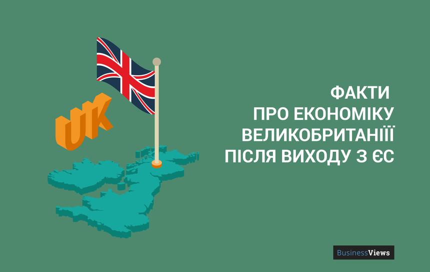 8 фактів про економіку Великобританії після виходу з ЄС
