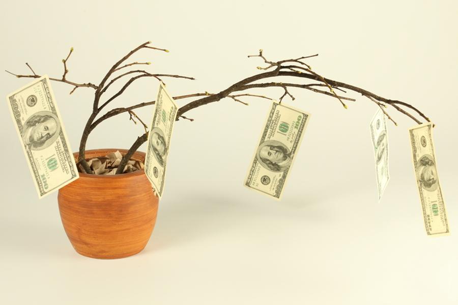 Денежный домик для привлечения денег