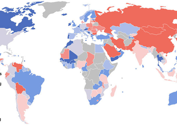 Карта дня: где не любят иностранцев?