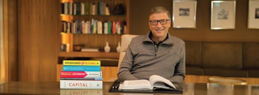 Что читать летом: Билл Гейтс рекомендует