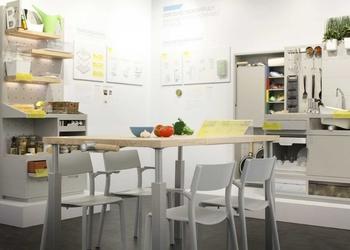 Кухня будущего от IKEA - в плите и холодильнике больше нет необходимости