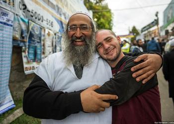 Умань празднует еврейский Новый год: 20+ фото Рош Ха-Шана