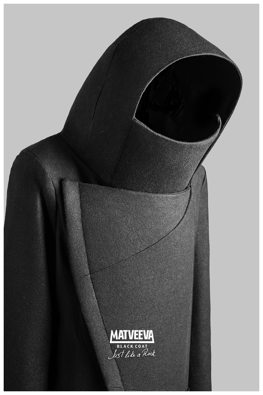 Matveeva Black Coat JUST LIKE A ROCK