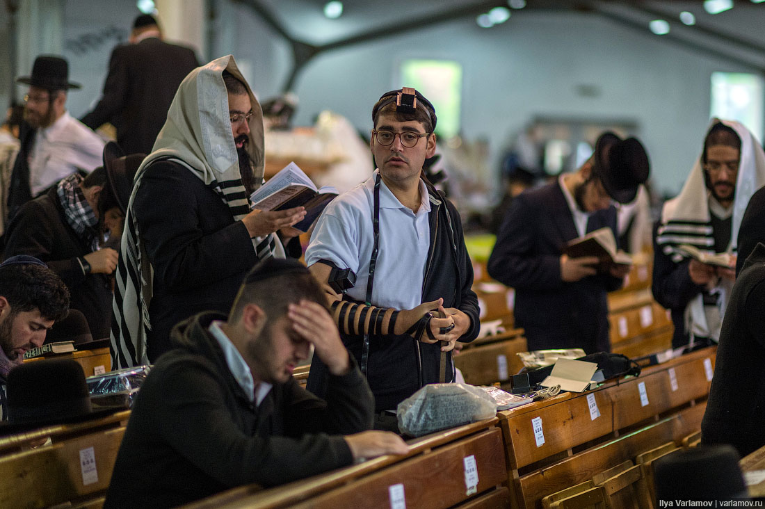 В синагоге
